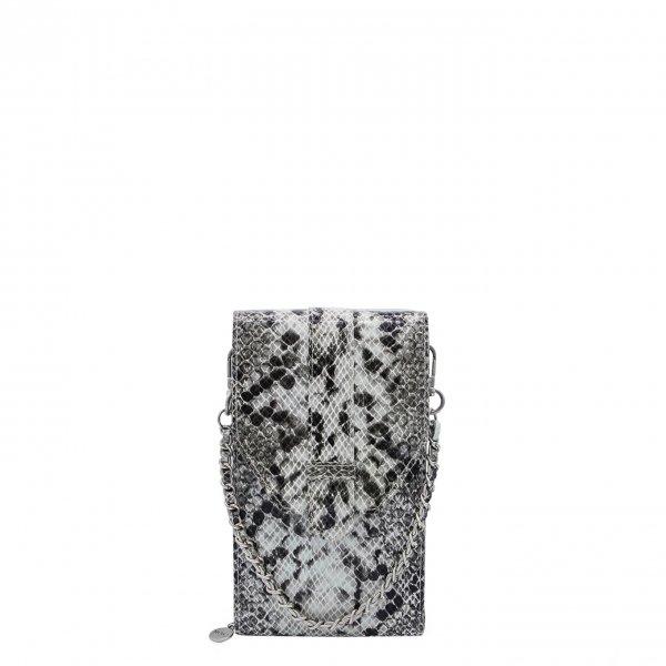 MOSZ Phone Bag Python black-grey Damestas