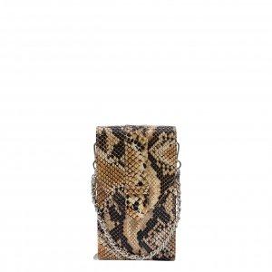MOSZ Phone Bag Python brown-chocolate Damestas