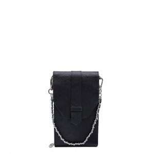 MOSZ Phone Bag Saffiano black Damestas