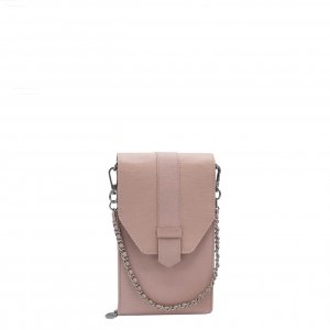 MOSZ Phone Bag Saffiano pink-light Damestas