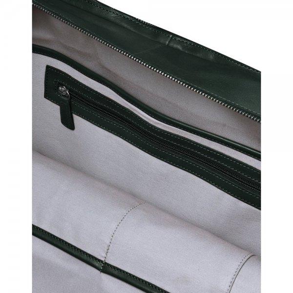MyK. Focus Bag 15'' emerald green