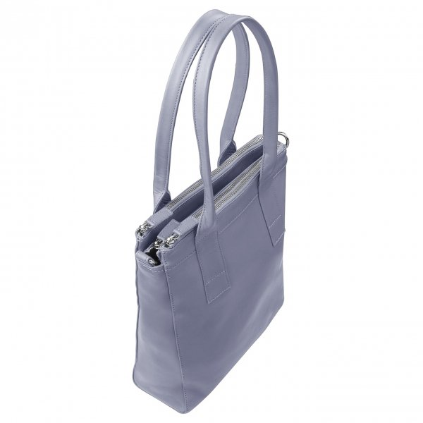 MyK. Lotus Bag silvergrey van Leer