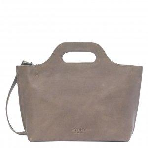 Myomy Carry Bag Handbag hunter taupe Damestas