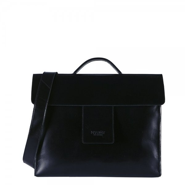 Myomy Home Bag Businessbag hunter waxy black
