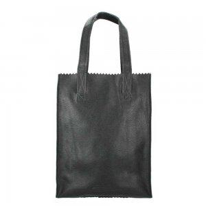 Myomy Paper Bag Long Handle Zip rambler black Damestas