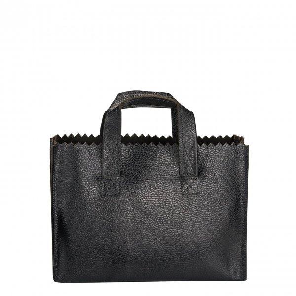 Myomy Paper Bag Mini Handbag Cross-Body rambler black