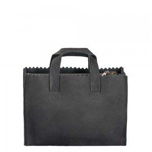 Myomy Paper Bag Mini Handbag Crossbody hunter off black