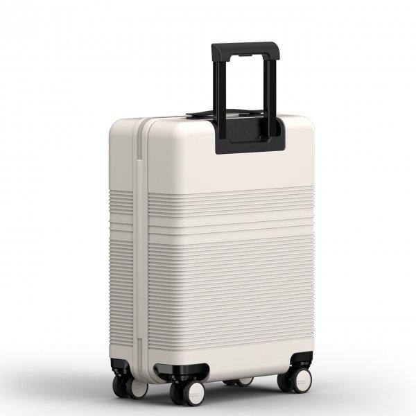 NORTVI Essential Edition 36 L sand white Harde Koffer van Polycarbonaat