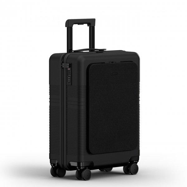 NORTVI Front Pocket 39 L midnight black Harde Koffer van Polycarbonaat