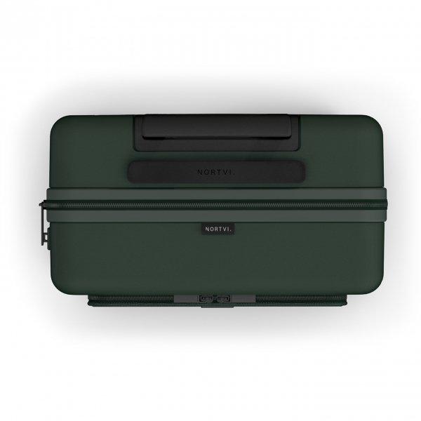 NORTVI Front Pocket 39 L rainforest green Harde Koffer