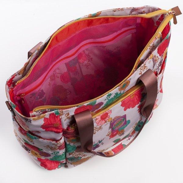 Oilily Color Splash Baby Bag winter white Luiertas van Polyester