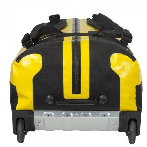 Ortlieb Duffle RS 140L sunyellow / black Handbagage koffer Trolley van PU