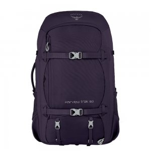 Osprey Fairview Trek 50 amulet purple backpack