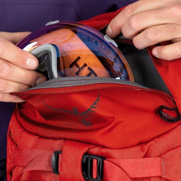 Osprey Kamber 16 Backpack galactic black backpack van Nylon