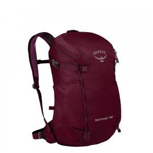 Osprey Skimmer 20 Women's Backpack plum red backpack