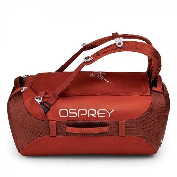 Osprey Transporter 65 ruffian red Weekendtas van Nylon