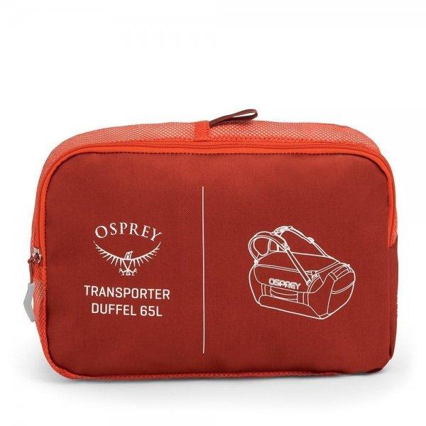 Osprey Transporter 65 ruffian red Weekendtas