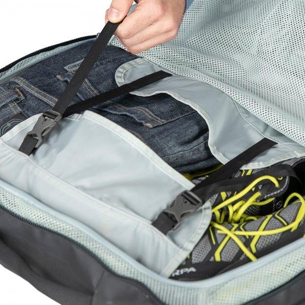 Osprey Transporter Carry-On 44 black Handbagage koffer Trolley van Nylon