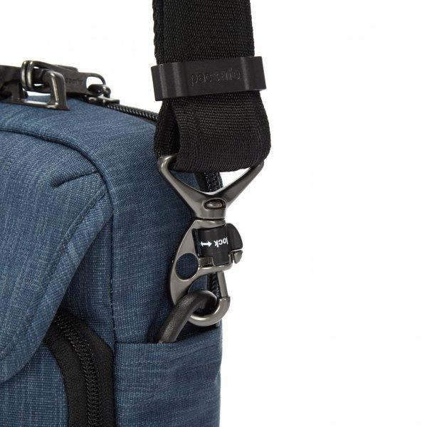 Pacsafe Metrosafe X Anti-Theft Compact Crossbody dark denim Herentas van Polyester