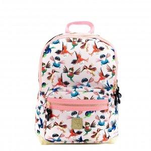 Pick & Pack Birds Backpack M soft pink