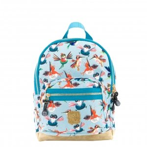 Pick & Pack Birds Backpack S dusty blue