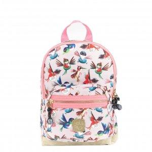Pick & Pack Birds Backpack S soft pink