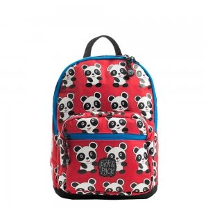 Pick & Pack Cute Panda Backpack S red multi Kindertas