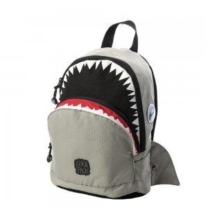 Pick & Pack Cute Shark Shape Backpack grey Kindertas