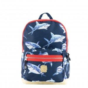 Pick & Pack Shark Backpack M navy Laptoprugzak