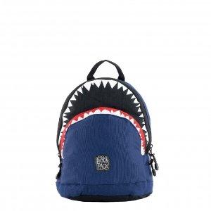 Pick & Pack Shark Shape Backpack S navy Kindertas