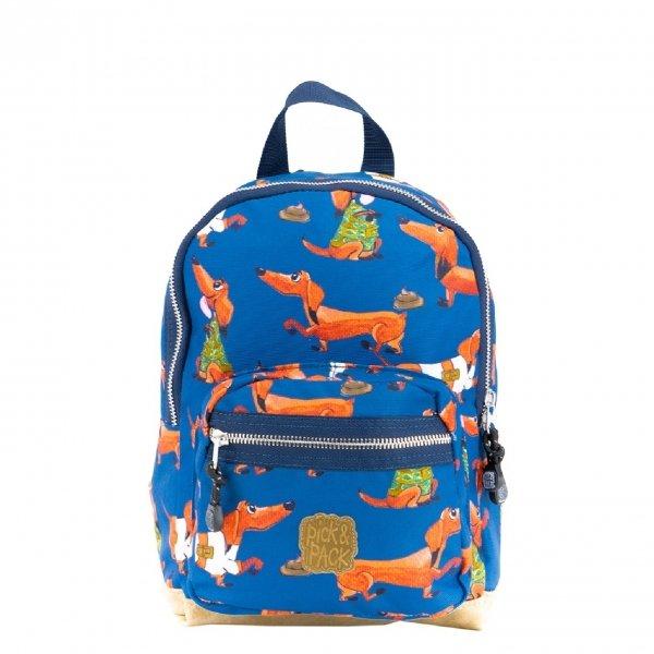 Pick & Pack Wiener Backpack S denim blue