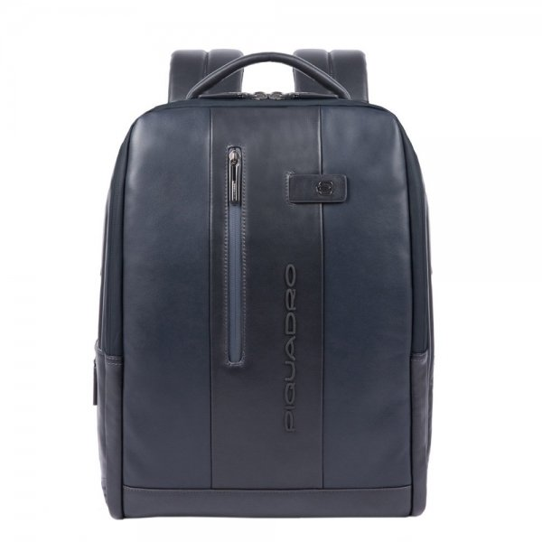 Piquadro Urban PC and iPad backpack with anti-theft cable blue backpack