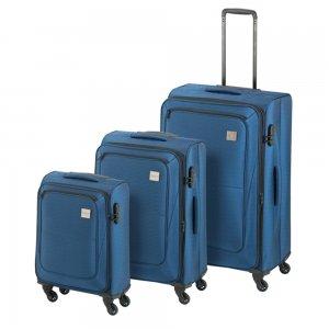 Princess Traveller Colombo 3 Delige Kofferset blue