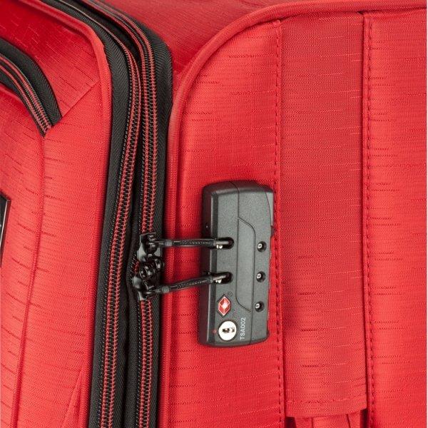 Princess Traveller Colombo 3 Delige Kofferset red van Polyester