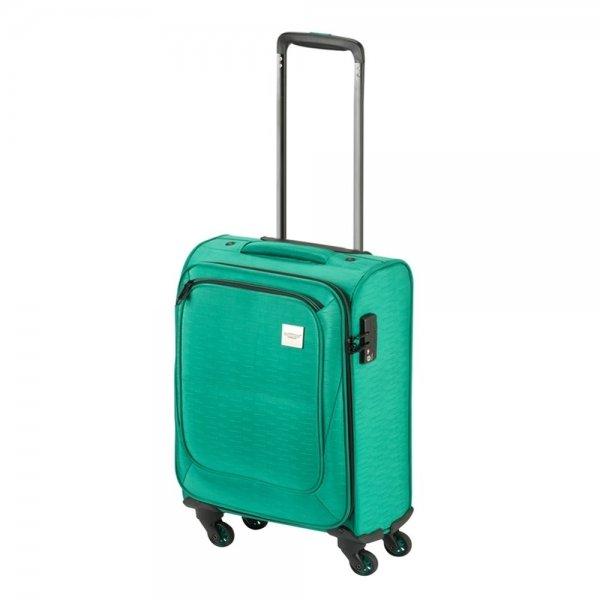 Princess Traveller Colombo 4 Wiel Cabin Trolley S green Zachte koffer