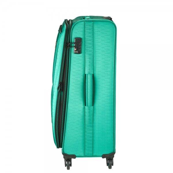 Princess Traveller Colombo 4 Wiel Trolley L green Zachte koffer