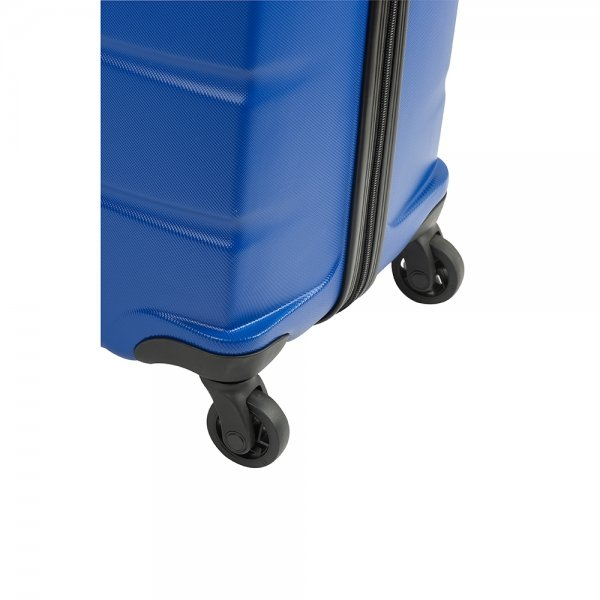 Princess Traveller Grenada 4 Wiel Trolley L blue Harde Koffer