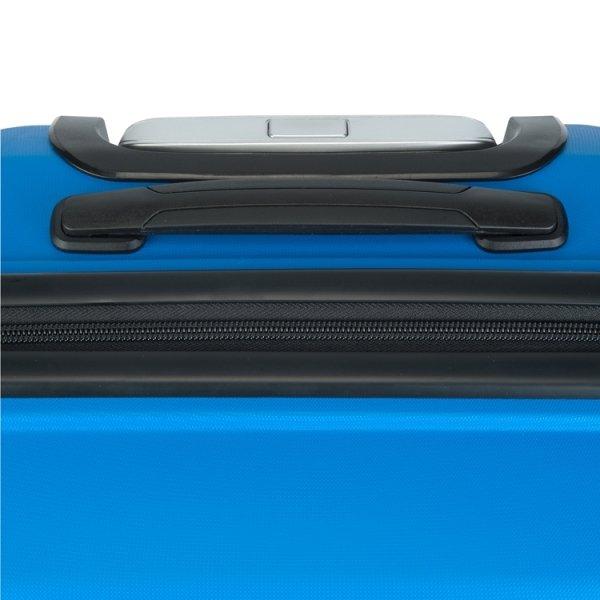 Princess Traveller Havana 3 Delige Kofferset blue van Polypropyleen