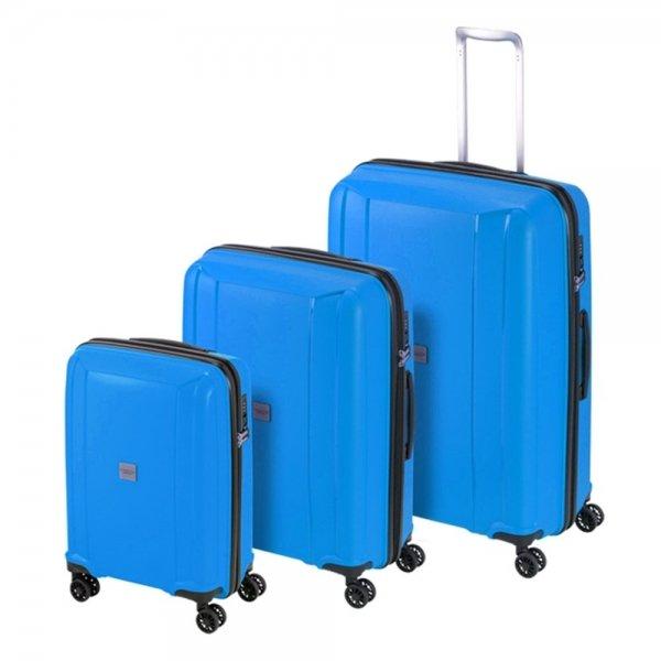 Princess Traveller Havana 3 Delige Kofferset blue