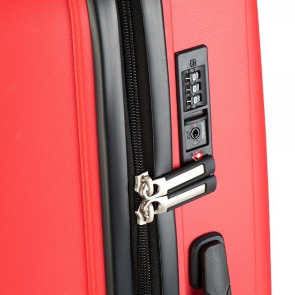 Princess Traveller Havana 3 Delige Kofferset red