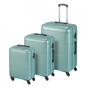 Princess Traveller Macau 3 Delige Kofferset light blue
