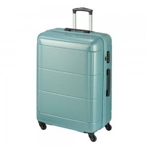 Princess Traveller Macau 4 Wiel Trolley L light blue Harde Koffer