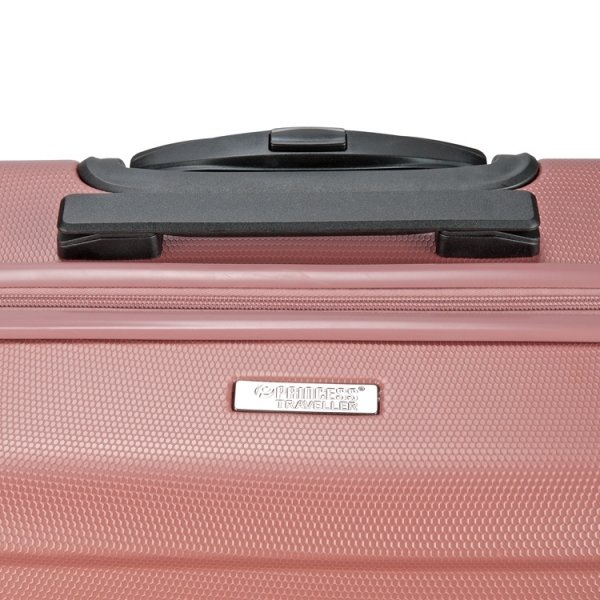 Princess Traveller Macau Cabin Trolley S pink Harde Koffer van ABS