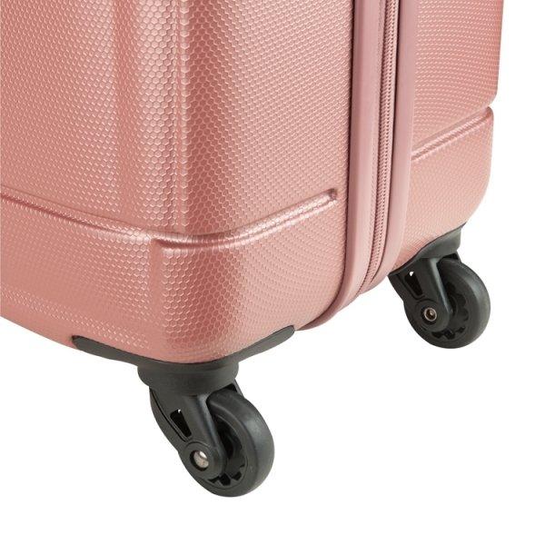 Princess Traveller Macau Cabin Trolley S pink Harde Koffer