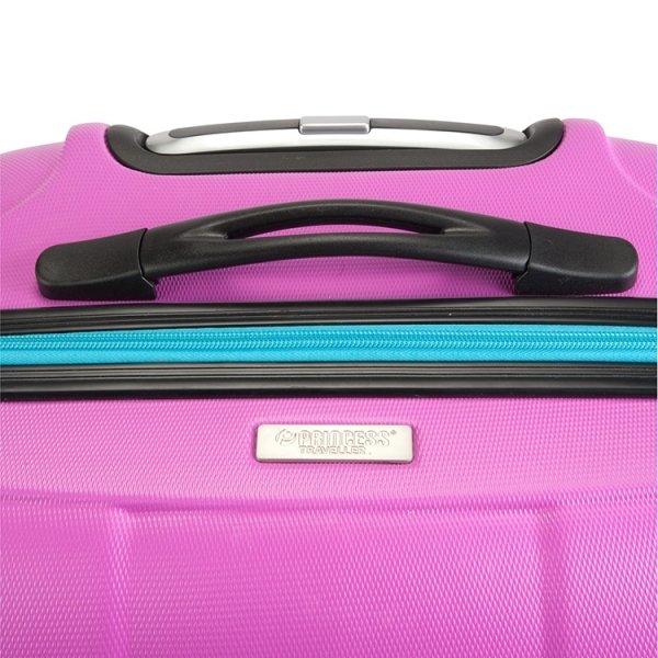 Princess Traveller Montreal Cabin Trolley S pink Harde Koffer van ABS