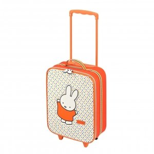 Princess Traveller Nijntje Kindertrolley orange Zachte koffer