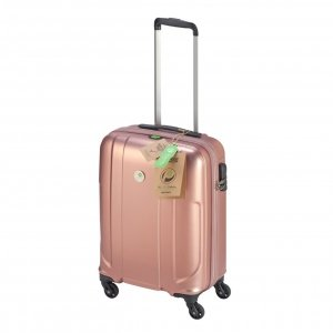 Princess Traveller Sumatra Recycled PET Cabin Trolley S pink Harde Koffer