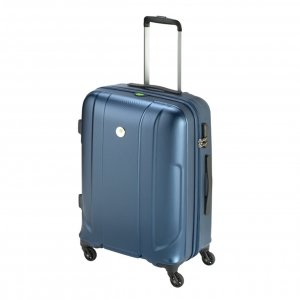 Princess Traveller Sumatra Recycled PET Trolley M dark blue Harde Koffer