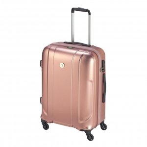Princess Traveller Sumatra Recycled PET Trolley M pink Harde Koffer