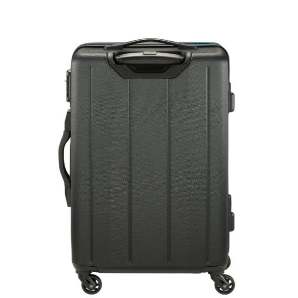 Princess Traveller Toulouse 4 Wiel Trolley M black Harde Koffer van ABS